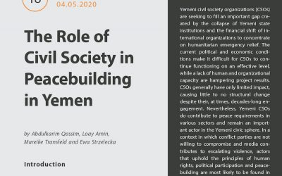The Role of Civil Society in Peacebuilding in Yemen (Brief)